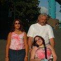 2003 : avec papa et Naura
