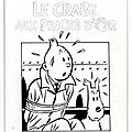 Le crabe aux pinces d'or (serge clerc)