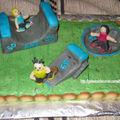 Gâteau skatepark
