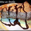 Cheese cake choco-poire