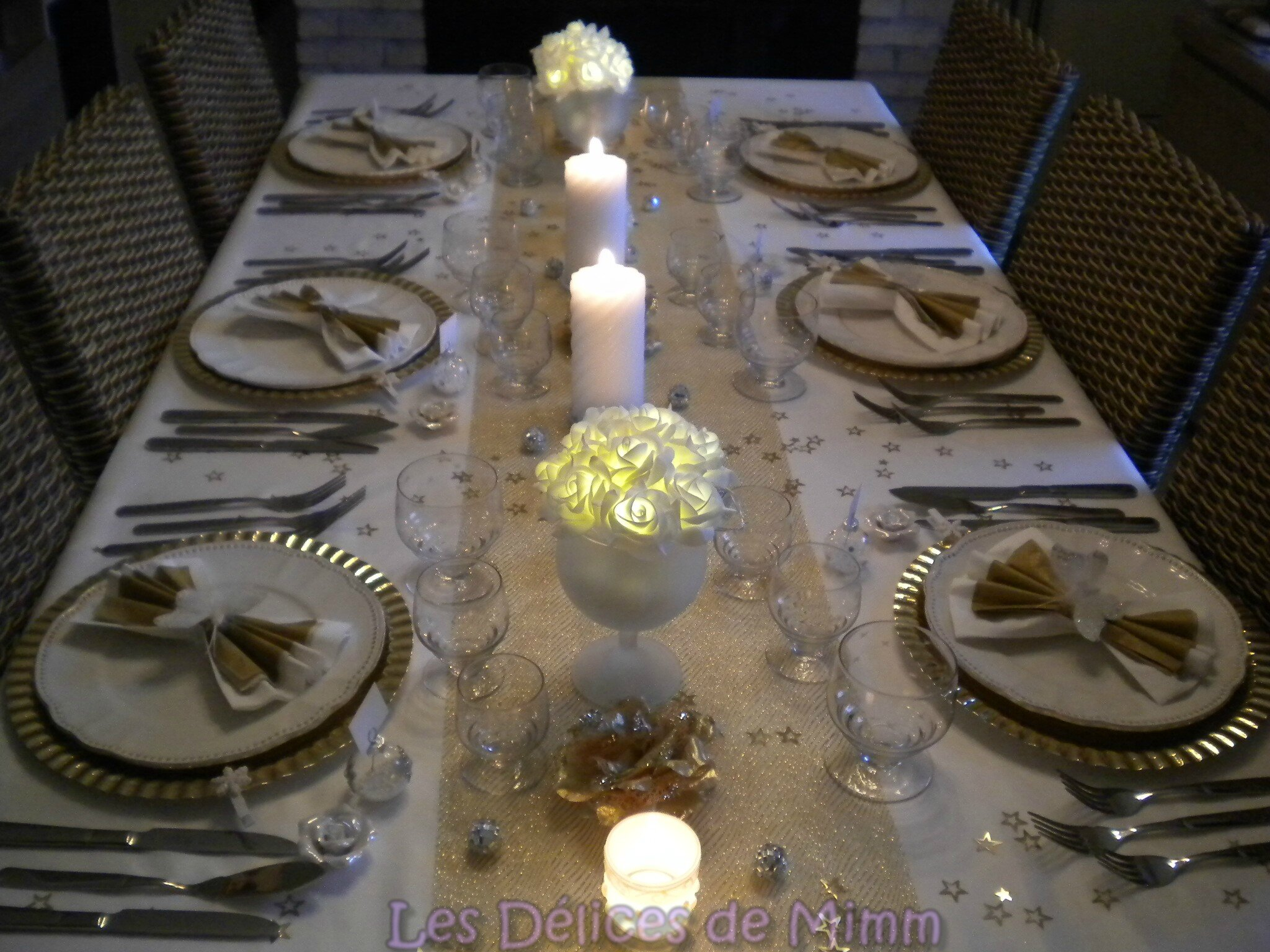 Table De Reveillon Nouvel An