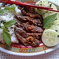 Boeuf thaï