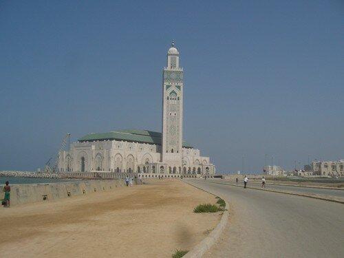 Casablanca, mosquée Hassan II