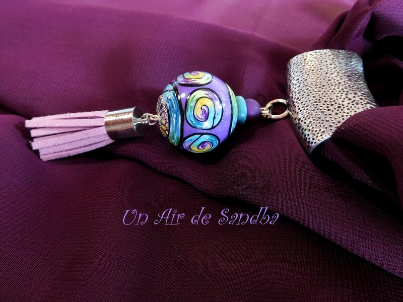 Bijou de foulard Prunus (2)