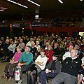 Un public nombreux est venu écouter la conférence de M.-P. Rey