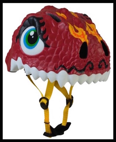 le cyclo casque enfant dragon chinois