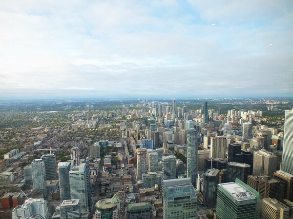 10 Voyage Canada Toronto View CN Tower