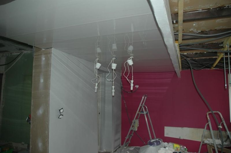 Un plafond qui brille le blog de pozzynette for Plafond facile a poser