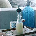 Soda au gingembre & the vert matcha