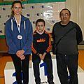 Une médaillée au club