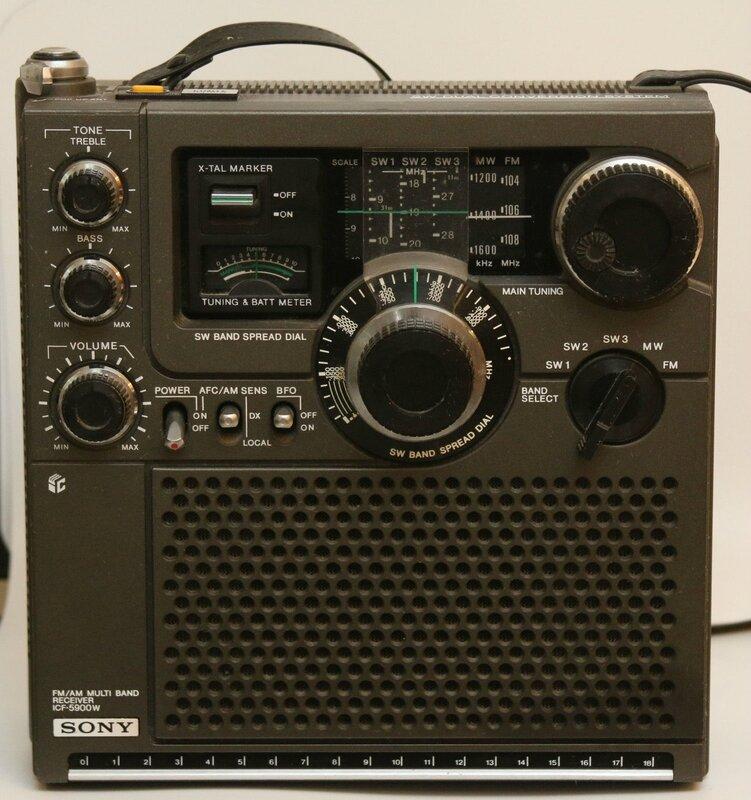 F1HDE 34 SONY ICF-5900W