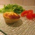 Petit soufflé au thon et au parmesan