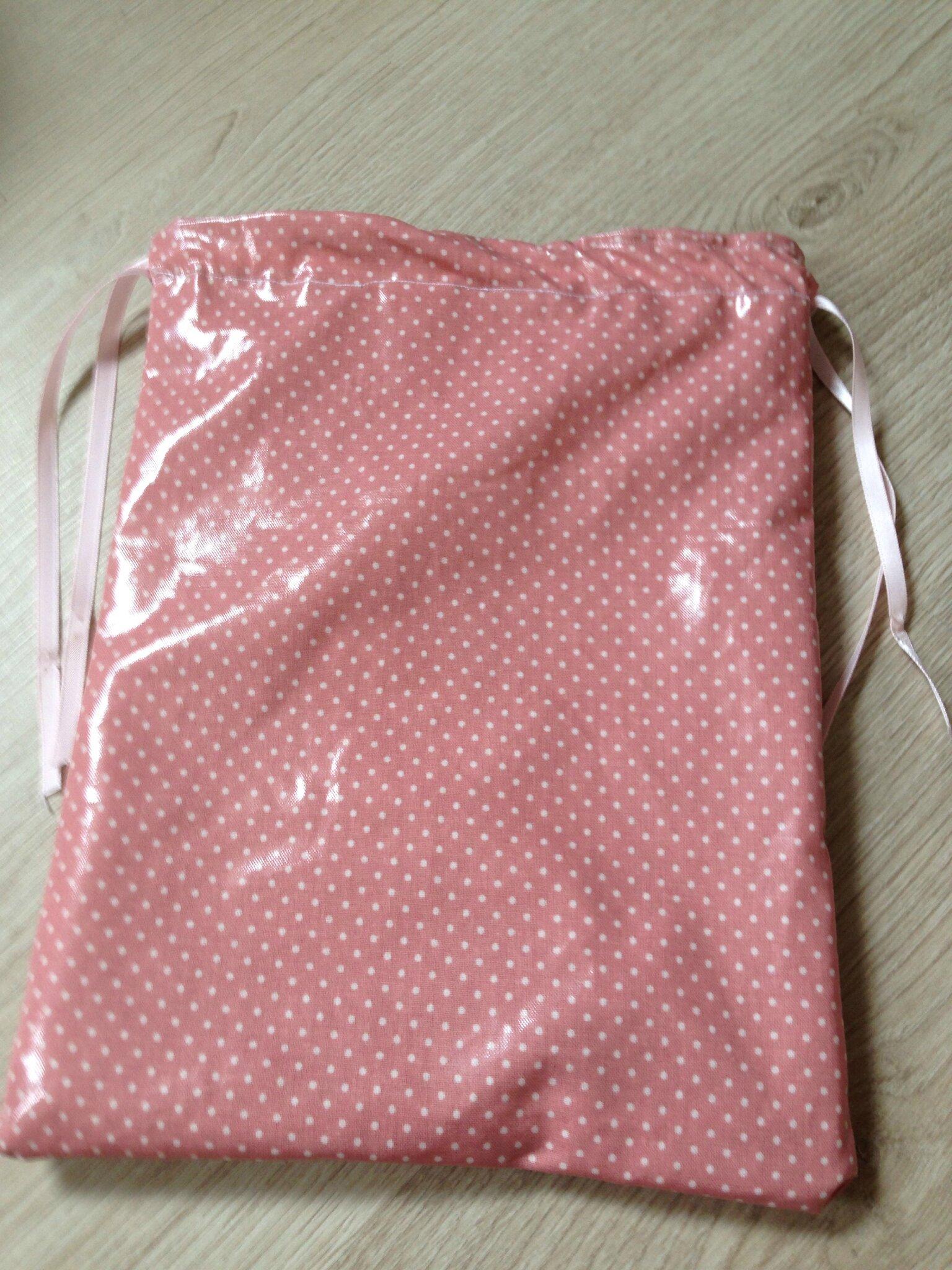 pochettes tissu impermeable les cr as de julie. Black Bedroom Furniture Sets. Home Design Ideas