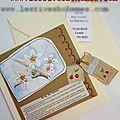 Marimerveille Carte à secret Le temps des cerises