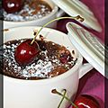 P'tits clafoutis framboises et cerises
