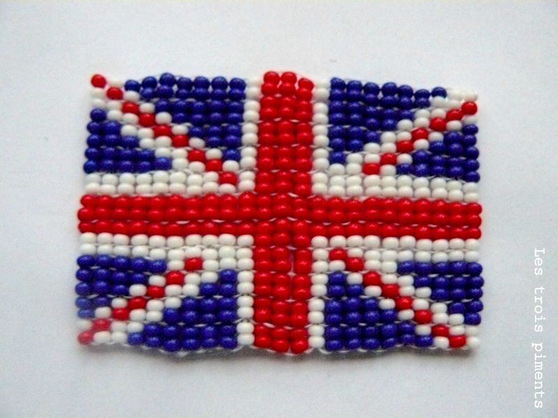 Modele De Collier En Perle Facile : Union jack les trois piments