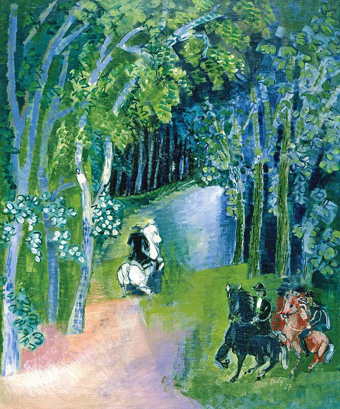 1927 - Allée des chevaux