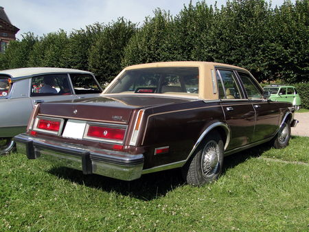 CHRYSLER Le Baron 4door Sedan 1981 Rohan Locomotion de Saverne 2010 2