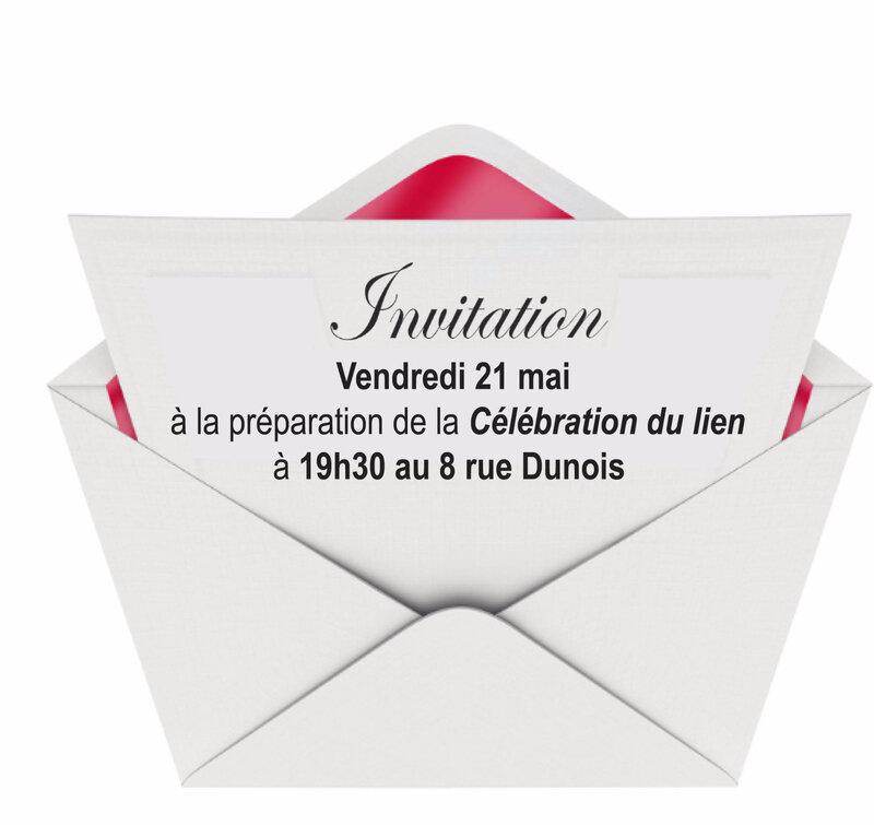 INVITATION 21 AVRIL