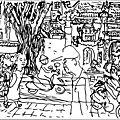Mai 2017 carnet de croquis à hanoi / tháng 5 năm 2017, sketchbook ở hà nội
