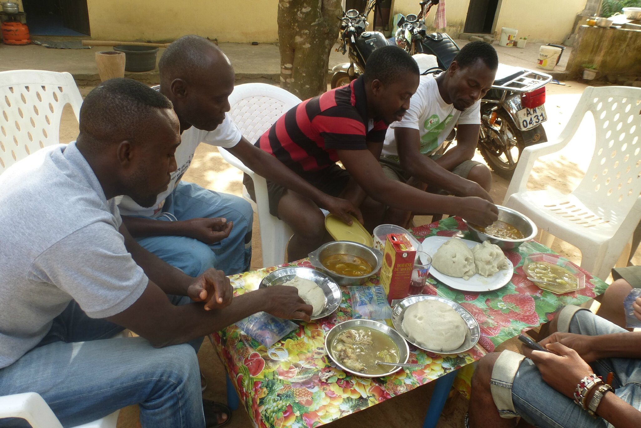 Image result for repas afrique