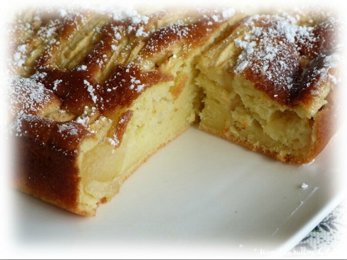 gâteau léger pommes2