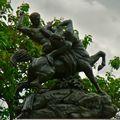 Statuaire du square Barye.
