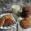Cookies chocolat aux pépites de chocolat de Patoche