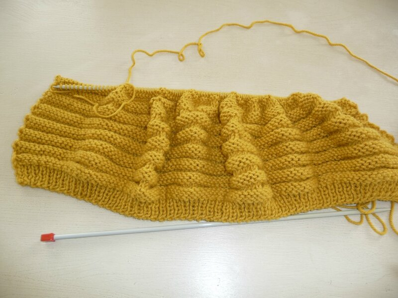 Comment Tricoter Fausse Maille Anglaise