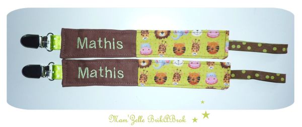 attaches tétines MATHIS