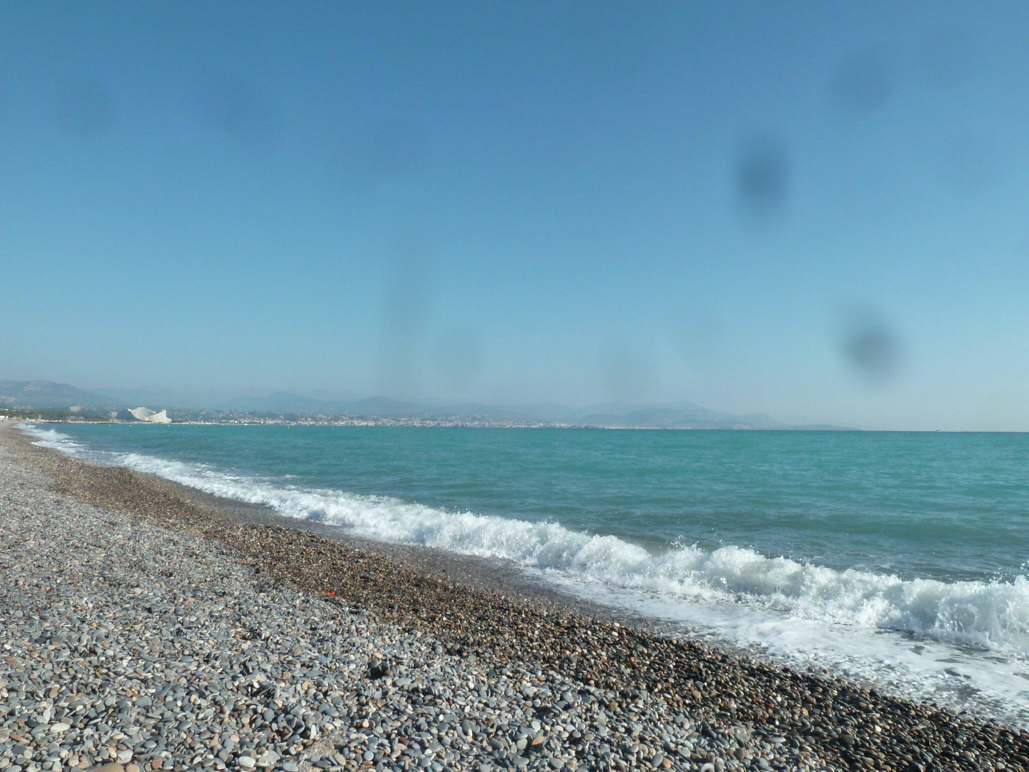 Peinture sur le bord de mer points de lutin - Peindre sur de la lasure ...
