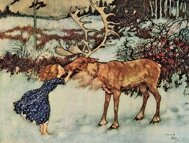 La Reine des Neiges - Illustration d'Edmund Dulac (1911)