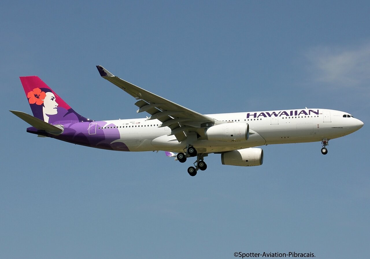 A roport toulouse blagnac hawaiian airlines airbus a330 for Dhl salon de provence