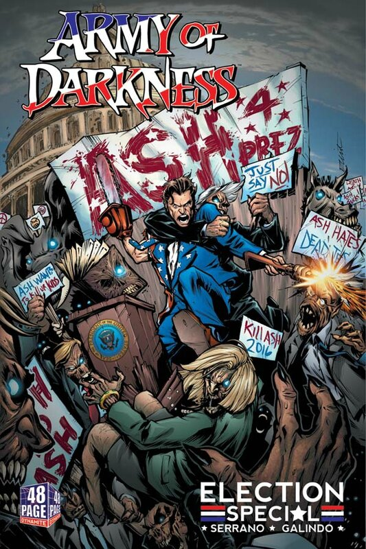 dynamite army of darkness election special