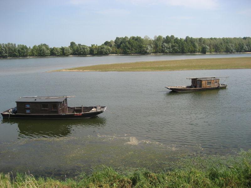 Toues de Loire