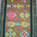 PLAID QUILT MYSTERE MAGIC PARCH