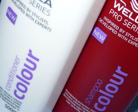 ma mre qui a les cheveux colors et mchs a test le duo shampooingaprs shampooing couleur - Shampoing Wella Cheveux Colors