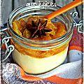 bataille food #20 .blanc manger à l'amande et sa compotée d'oranges aux épices.