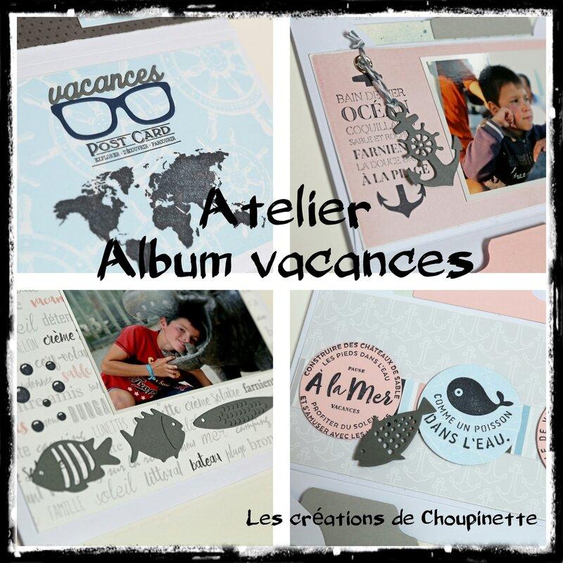 Atelier album vacances