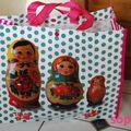 Sac cabas poupées russes