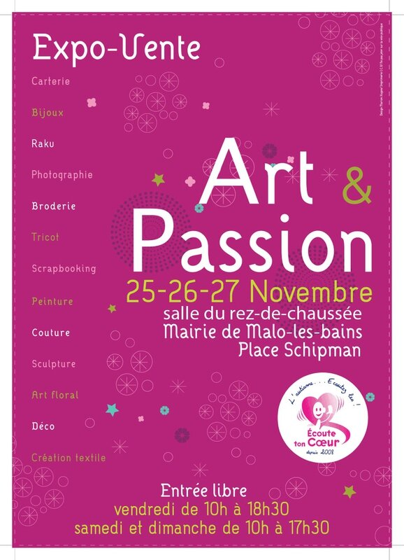 art et passion 2016 - affiche