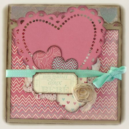 Mini album amour katia nesiris d monstratrice stampin 39 up - Idee scrapbooking amour ...