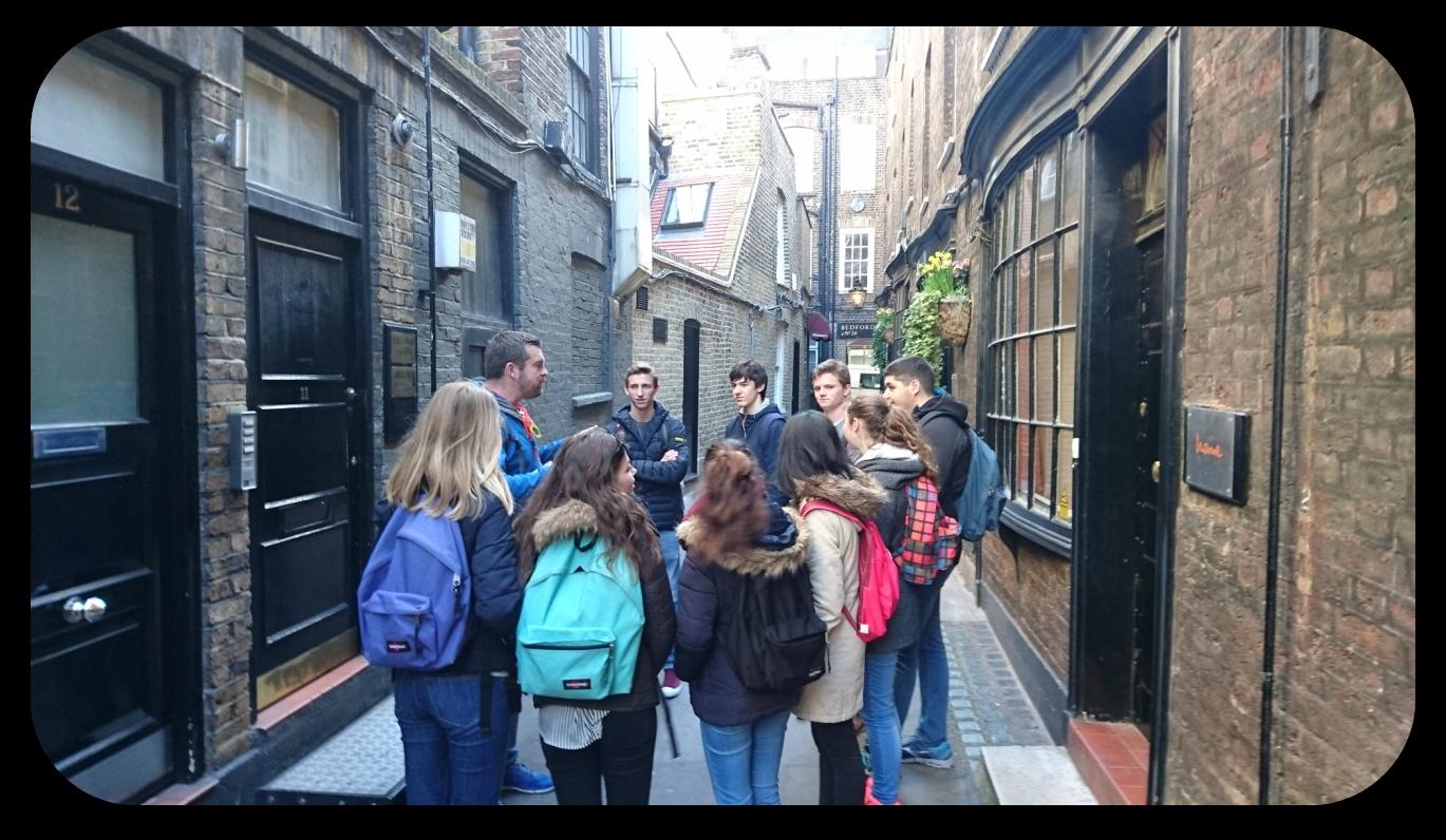 travel in london and cambridge summary - journal électronique du lpo