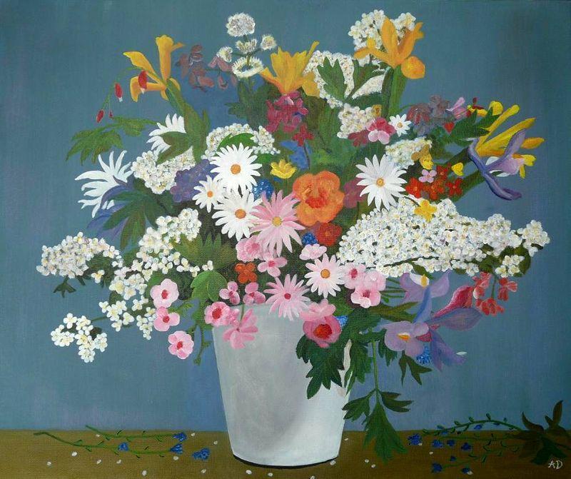 Fleurs et bouquets.