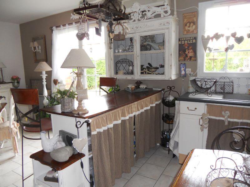 rideau pour meuble de cuisine ouvert - inspiration du blog