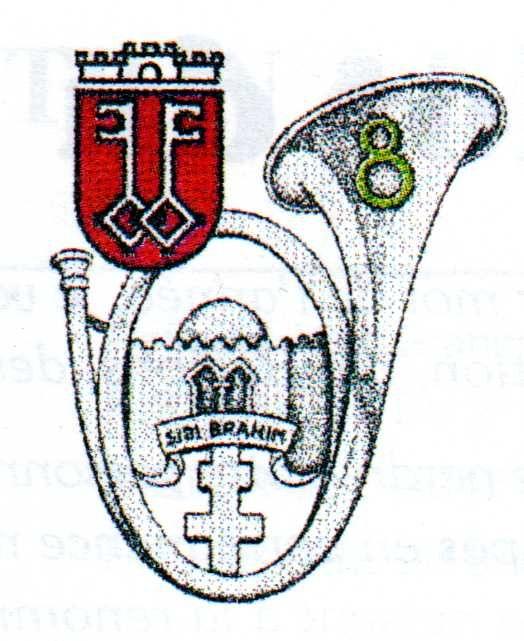 Armoirie de Wittlch et insigne du 8e Bataillon