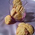 Cookies au roquefort et noisettes