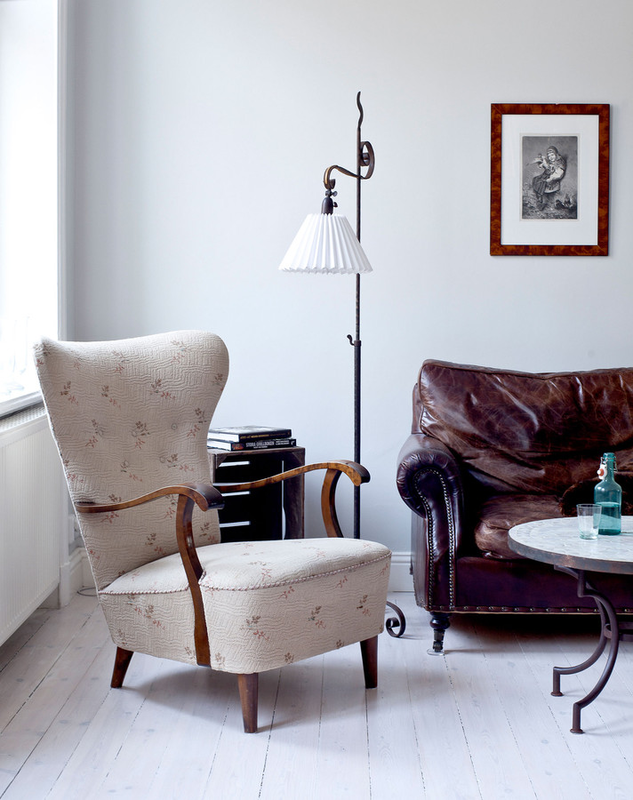 79ideas_cozy_living_area_with_vintage_leather_sofa