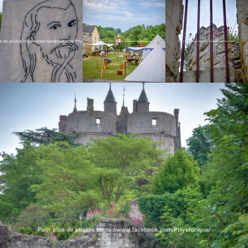 Petit Matin au médiévales du Château de Montreuil Bellay (2)