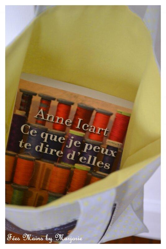 Tote Bag Le Petit Prince et livre Ce que je peux te dire d'elles